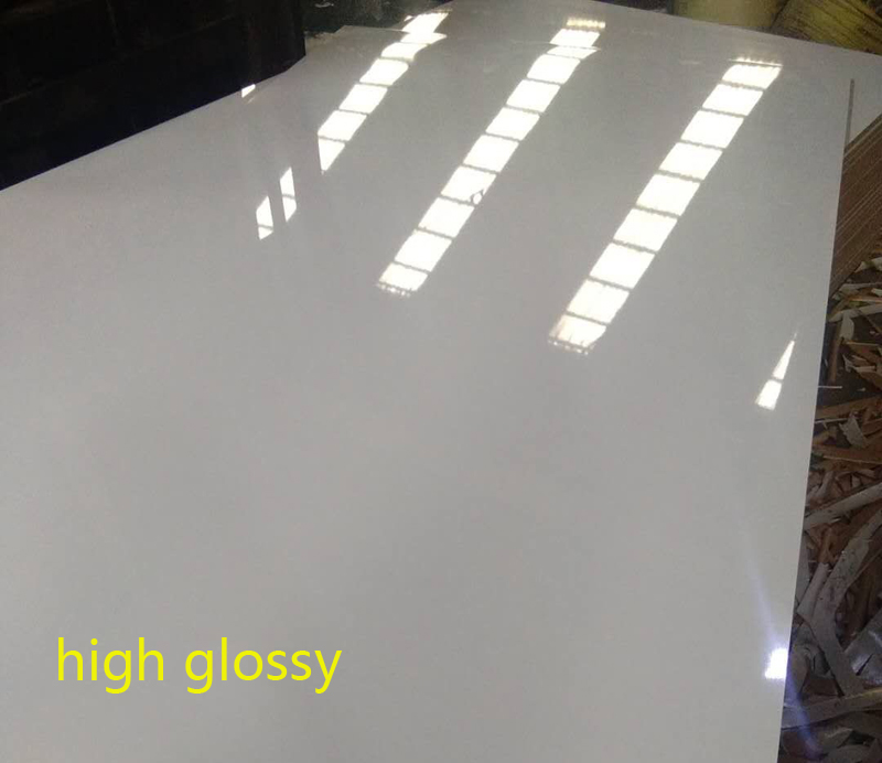 melamine plywood - high glossy