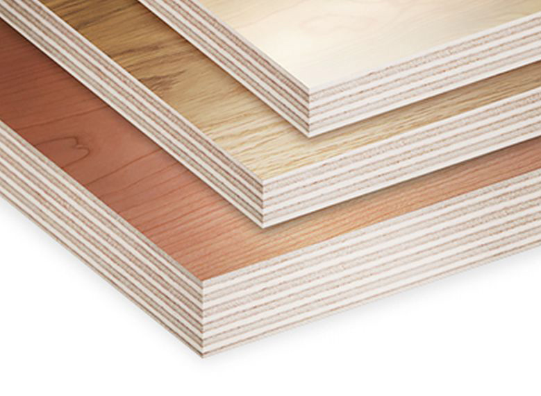 Melamine plywood - wood grain